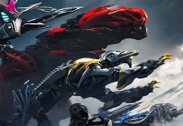Zords Rule the New Power Rangers Poster
