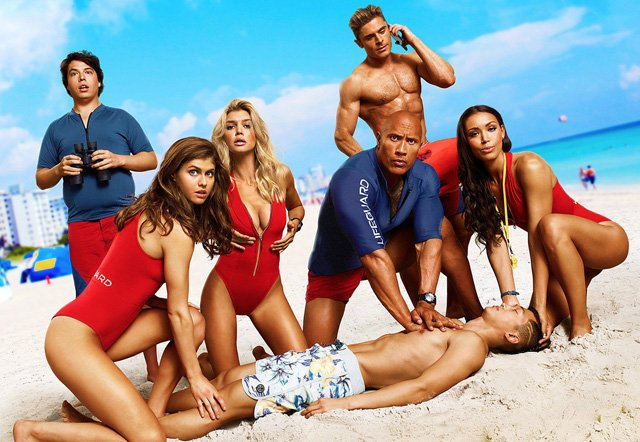 The Baywatch Super Bowl Spot is Online!