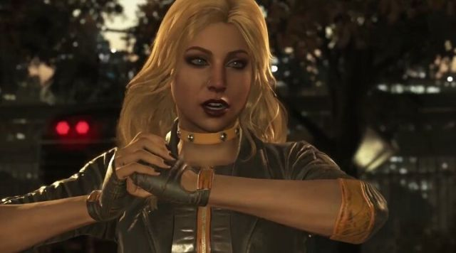Black Canary Confirmed in New Injustice 2 Trailer!