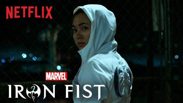 Colleen Wing Kicks Ass in the First Marvel's Iron Fist Clip