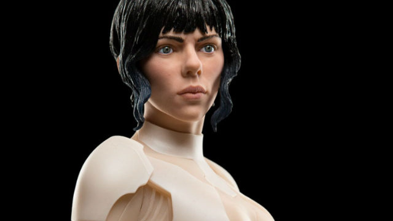 Weta Ghost In The Shell Collectibles Are Here