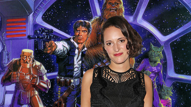 Fleabag's Phoebe Waller-Bridge will play a CGI character in the upcoming Star Wars Story.