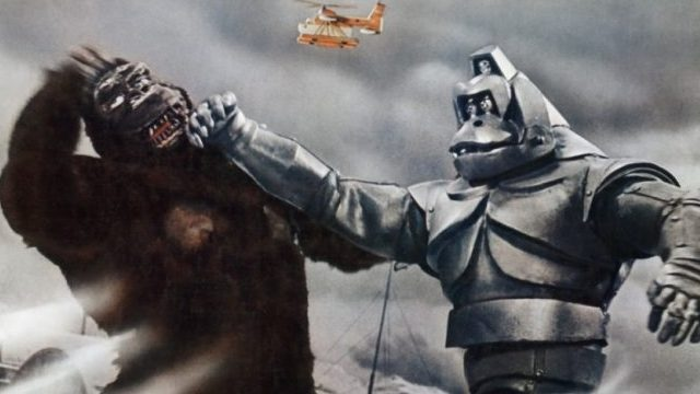 King Kong Escapes is one of those King Kong movies where he fights a robo-Kong.