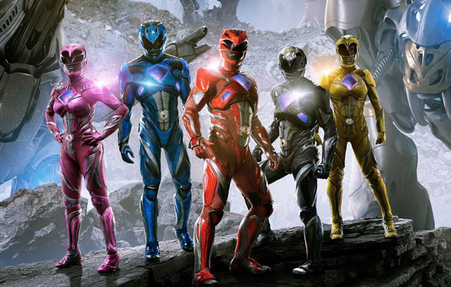 Power Rangers and Zords Together in the New International Poster