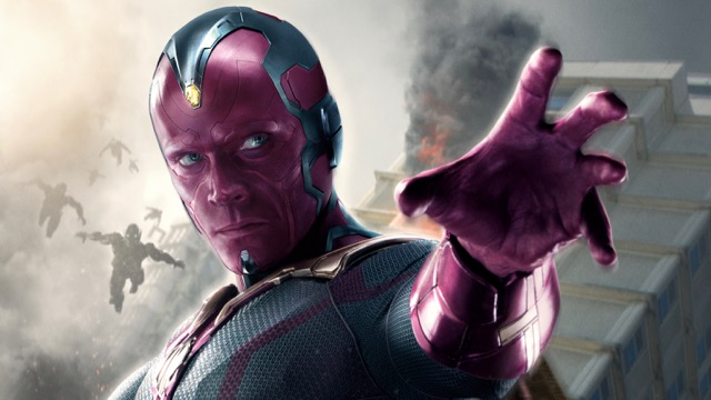 Infinity War Set Video Shows Vision In A Fight