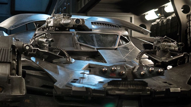 Check out the Justice League Batmobile! Zack Snyder has just shared a new Justice League Batmobile photo.