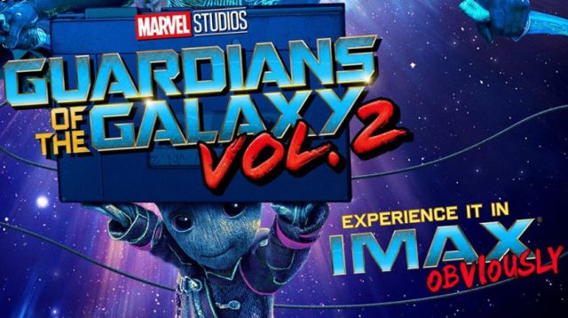 Time for the Guardians of the Galaxy Vol. 2 IMAX Poster, Obviously