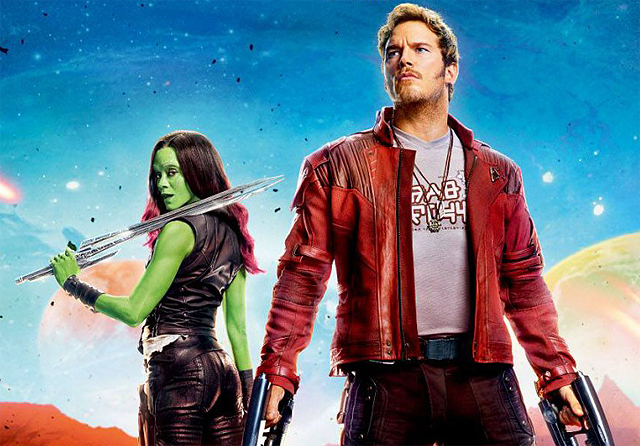 Colorful New Guardians of the Galaxy Vol. 2 International Posters