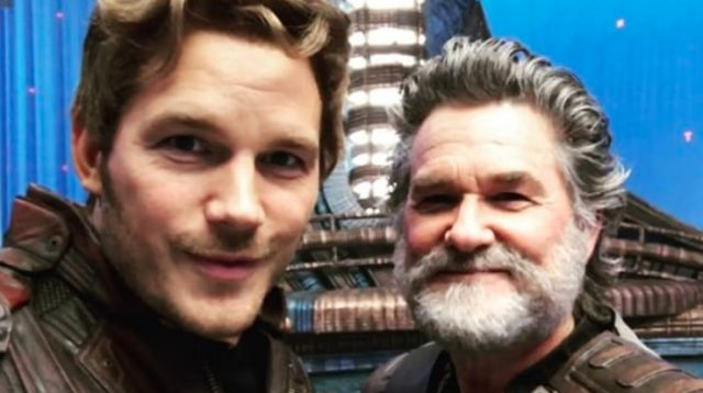 Chris Pratt and Kurt Russell Are Adorable in Guardians Instagram Post