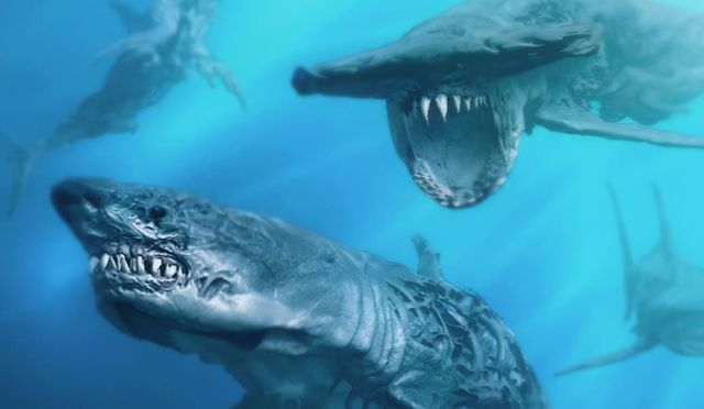 Pirates of the Caribbean 5 Concept Art Reveals Ghost Sharks