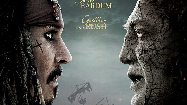 Here's a Dead Men tell no Tales poster from Germany. Dead Men Tell No Tales sails in this summer!