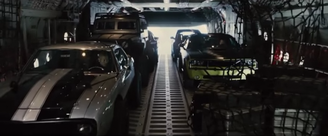 Furious 7's skydiving bit is one of the best Fast and Furious action sequences.
