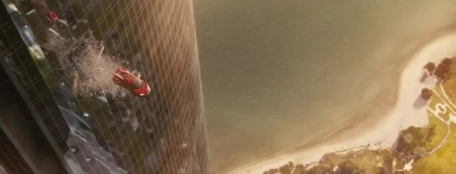 Flying cars make for the best Fast and Furious action sequence.