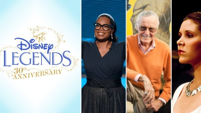 D23: Carrie Fisher, Mark Hamill, Stan Lee, and More to Be Honored as Disney Legends