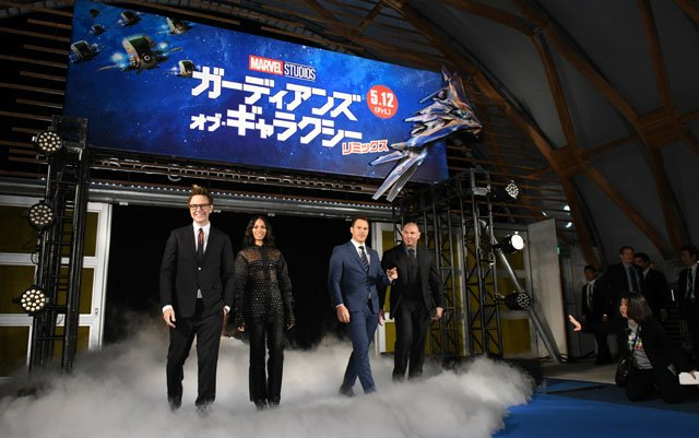 Check Out Pics from the Guardians of the Galaxy Tokyo Fan Event