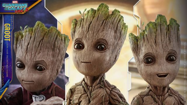 Hot Toys Reveals Life-Size Baby Groot Figure