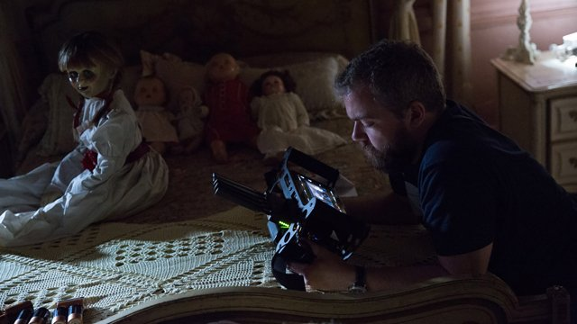 Pay a visit to the Annabelle Creation set with our Anabelle Creation set visit report!