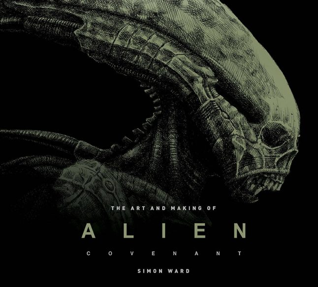 Win an Alien: Covenant - The Art of the Film Book