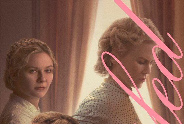 The Beguiled Poster, With Nicole Kidman and Kirsten Dunst