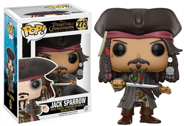 New Pirates of the Caribbean: Dead Men Tell No Tales Funko Pops