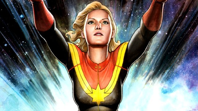 First Look at Brie Larson in Costume as Captain Marvel!