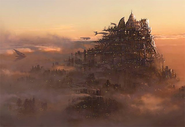 Peter Jackson Reveals the First Mortal Engines Concept Art