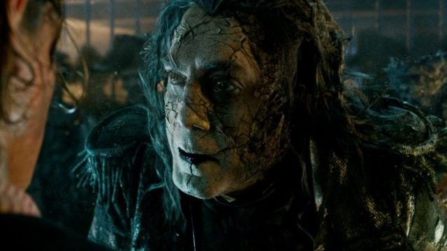 Salazar is one of the new Pirates of the Caribbean characters and he's played by Javier Bardem.