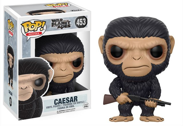 War for the Planet of the Apes Funko Pops are Adorably Angry