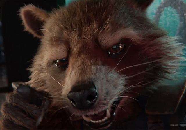 Rocket Raccoon Teaser for Guardians of the Galaxy - Mission: BREAKOUT!