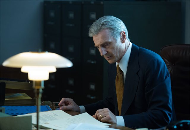 First Look at Liam Neeson as Deep Throat in The Silent Man Clip