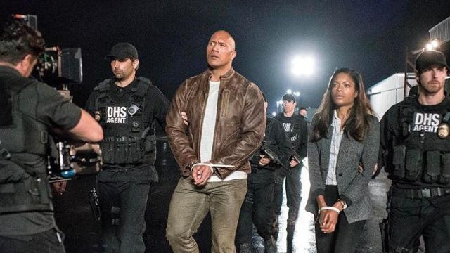 Dwayne Johnson Shares More Photos from Rampage Set