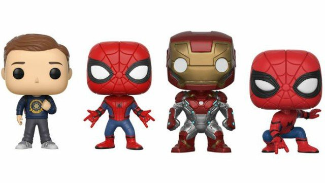 Spider-Man: Homecoming Exclusive Funko Pops Revealed