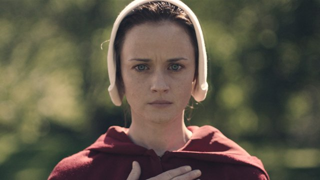 Alexis Bledel will be a series regular on The Handmaid's Tale season two. Alexis Bledel was a guest star on the first season.