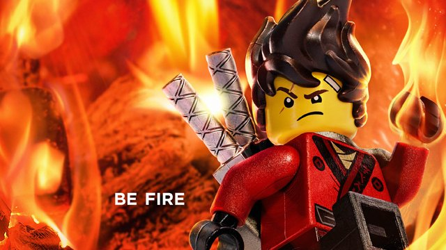 Kai Is Another One Of The Key LEGO Ninjago Movie Posters.