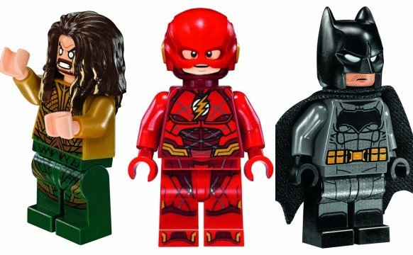 Justice League LEGO Sets Include Atlantis, Knightcrawler, and Flying Fox