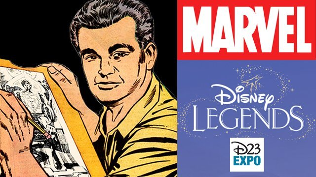Jack Kirby will be honored at this year's D23 Expo.