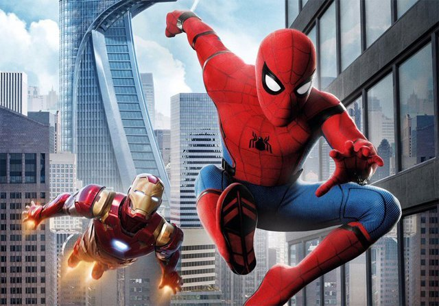 Vulture Battle with Iron Man in International Spider-Man: Homecoming Posters