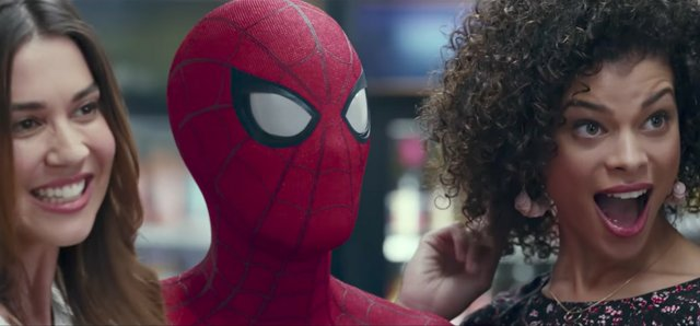 It's a Spidey DJ Khaled team-up! Check out DJ Khaled's cameo in a new Homecoming NBA spot.