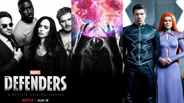 Comic-Con 2017: Marvel Television Schedule Includes Defenders, Inhumans & More!
