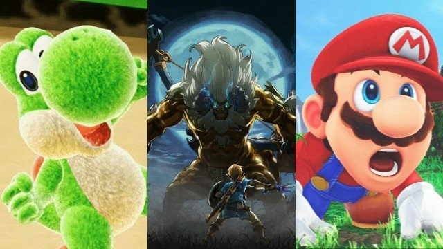All the Nintendo trailers from the E3 2017 presentation including Super Mario Odyssey and more!