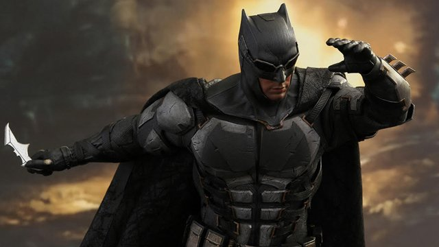 Check out the Hot Toys tactical Batsuit. The Tactical batsuit appears in Justice League.