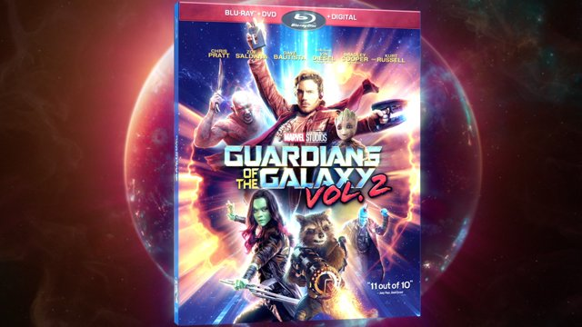 Guardians of the Galaxy Vol. 2 is set to come home in August. Look for the Digital HD release on August 8 with the film hitting DVD, Blu-ray & 4K August 22.