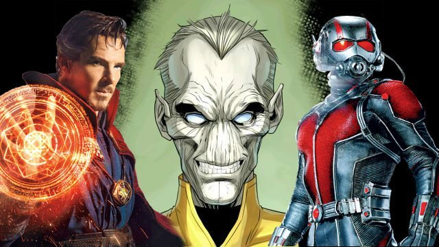 Infinity War Set Photos Feature Paul Rudd and Doctor Strange in Trouble