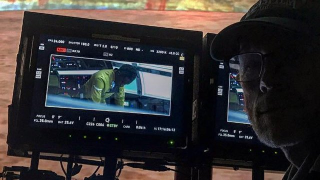 Is this our first look at Donald Glover as Lando Calrissian? Lando Calrissian is a vital part of the Han Solo movie.