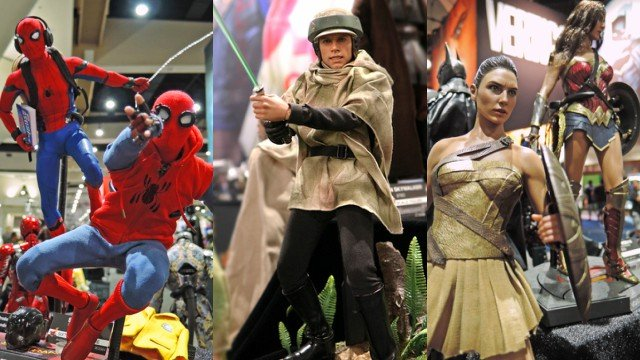 Comic-Con: Hot Toys Reveal New Marvel, DC, and Star Wars Figures!