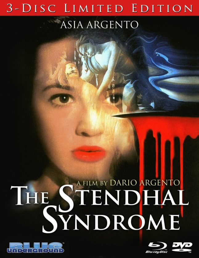 First Look at Blue Underground's The Stendhal Syndrome Blu-ray Art