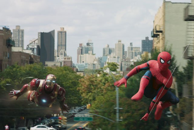 News on Homecoming Deleted Shots, Spidey Sense and IMAX Intro