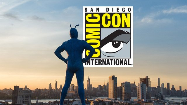 The Tick takeover has hit Comic-Con. Explore the full Tick Takeover in our gallery.