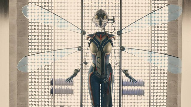 Check out Wasp concept art from D23. The Wasp concept art is by Andy Park.