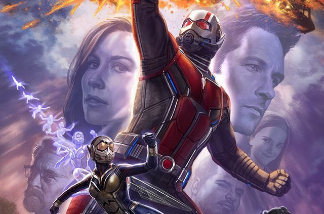 Ant-Man and the Wasp Comic-Con Art Revealed!